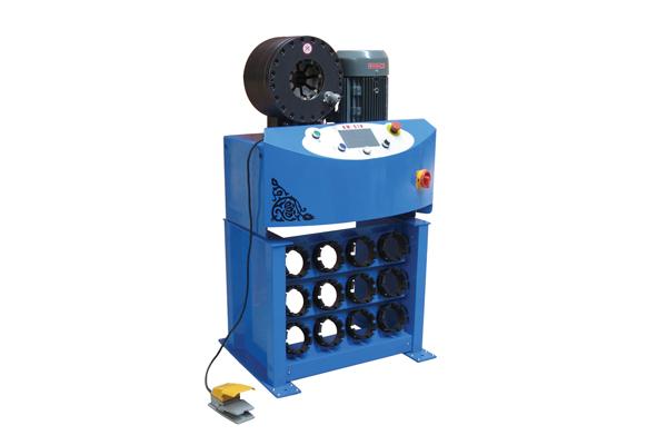 Vysokotlaký hydraulický krimpovací stroj pro podporu malých podniků